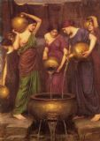 Waterhouse, John William: The Danaides. Fine Art Print/Poster. Sizes: A4/A3/A2/A1 (003472)